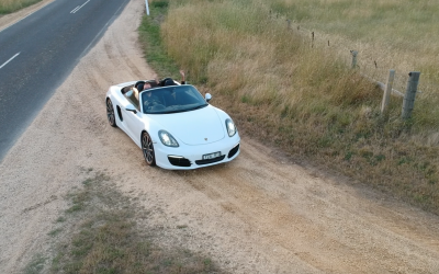 The Famous Great Ocean Road… In A Porsche