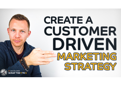 9️⃣🔥5️⃣ Create a customer driven marketing strategy
